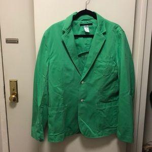 Marc Jacobs Green Blazer/Jacket, Size Large